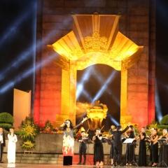 Cầu truyền hình Dáng đứng Việt Nam Thái Nguyên - Hà Nội - Quảng Trị - TP. Hồ Chí Minh